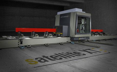 Uusi alumiiniprofiilien cnc-työstökeskus